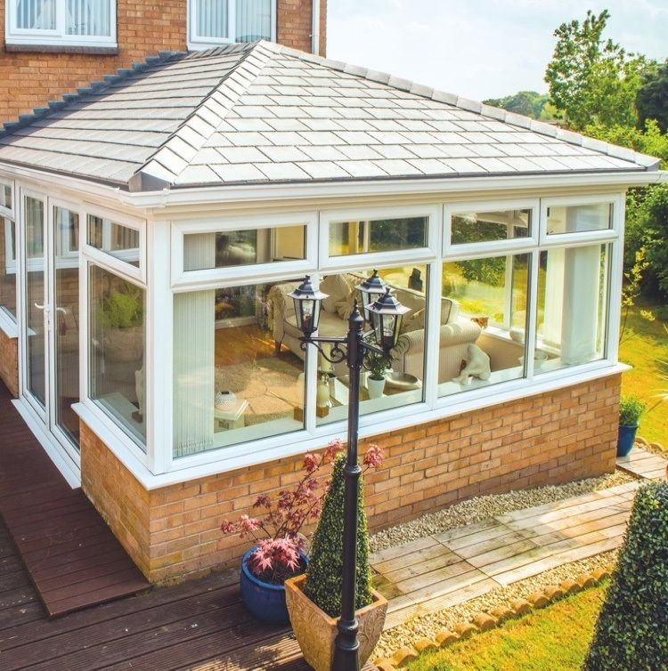 Invest in your conservatory with a tiled roof