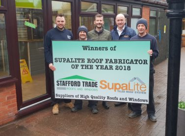 SupaLite Roof Fabricator of the Year 2018