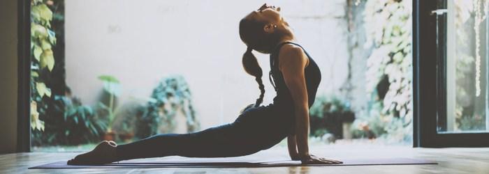 conservatory yoga room