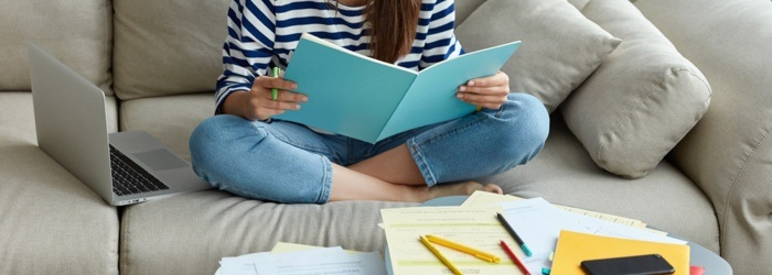 Keep On Track of Work & School With a Study Room