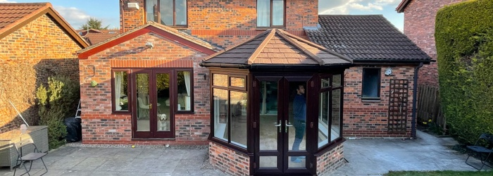 Install a new conservatory roof