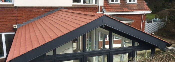 conservatory roof tile replace