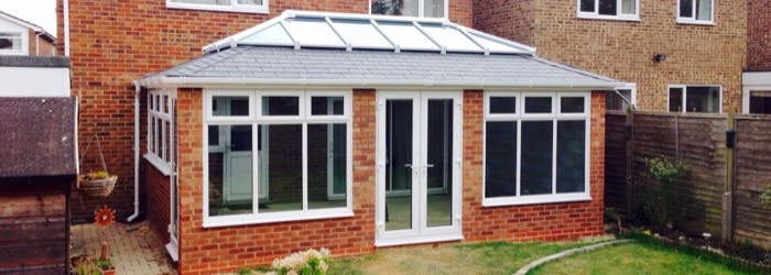 Double-Hip Conservatory Roof