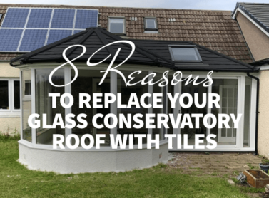 8 Reasons to Replace Your Glass Conservatory Roof With Tiles
