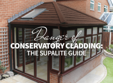 Dangers of Conservatory Cladding: The SupaLite Guide