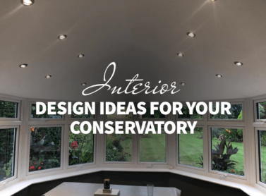Interior design ideas for your conservatory