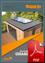 SupaLite Flat Roof Orangery