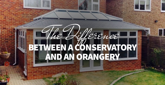 difference between a conservatory and an orangery