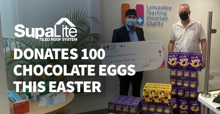 SupaLite Donates 100 Chocolate Eggs This Easter