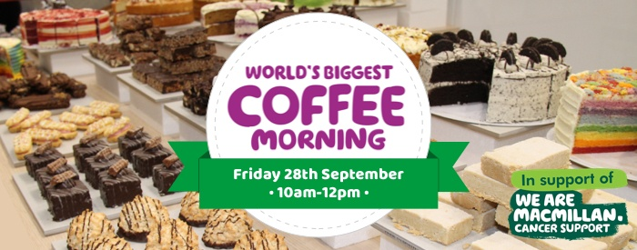 SupaLite Macmillan Coffee Morning 2018