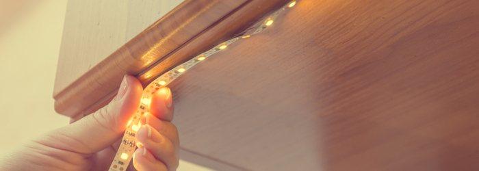 LED Strips or Spotlights