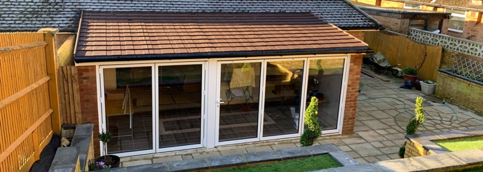 Lean-To Conservatory Roof