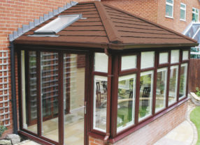 eliminate glare with a solid roof