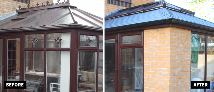 6 essentials to consider when replacing your conservatory roof