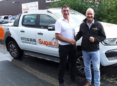 New SupaLite Regional Sales Manager Mark