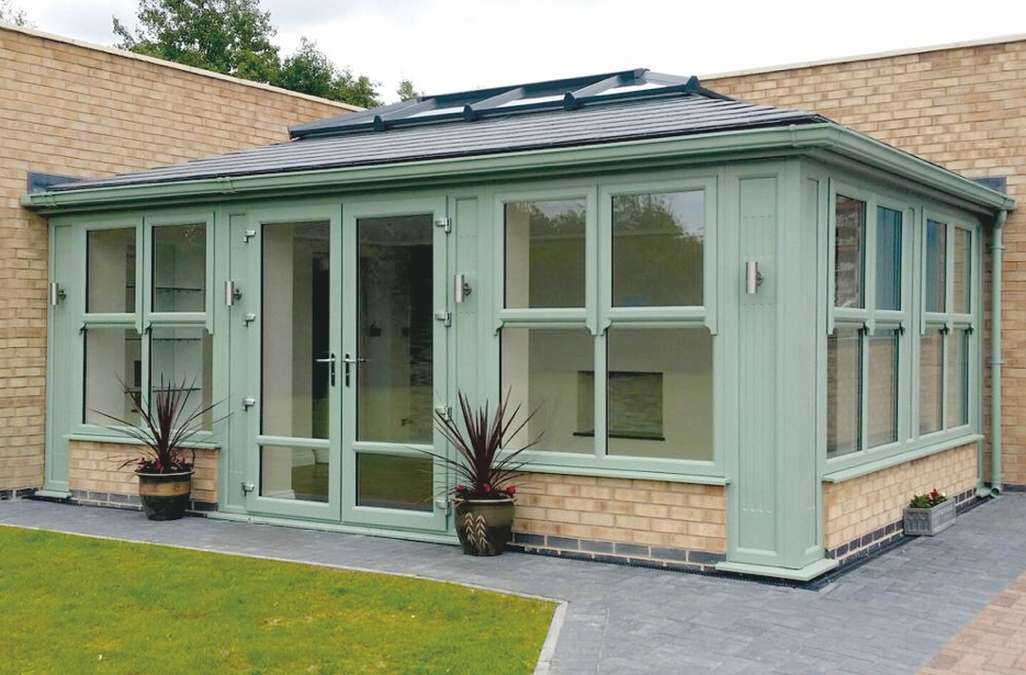 Orangery Roof Supalite Tiled Roof System