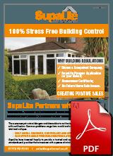 SupaLite Building Control Leaflet