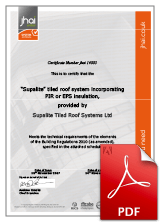 SupaLite JHAI Systems Approval Certificate