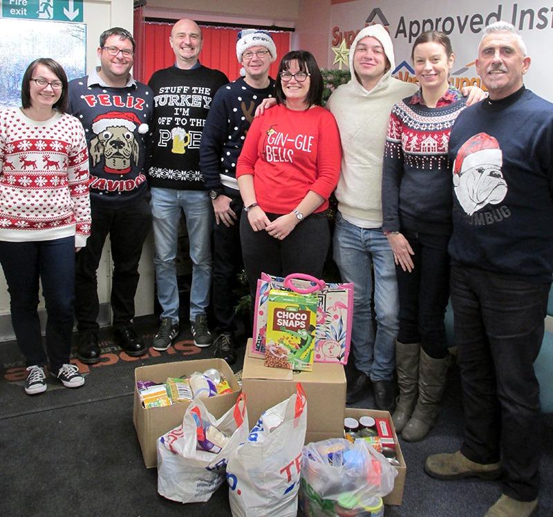 SupaLite Salvation Army Christmas Jumper Days