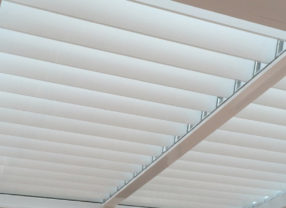 white thermablind