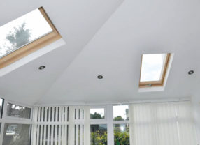 replacement roof interior