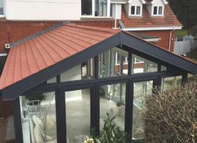light slate conservatory roof