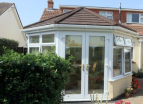 SupaLite tiled roof extension